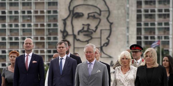 El príncipe Carlos y su esposa Camila  llegan a Cuba en histórica visita