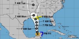 Cristóbal se fortalece a tormenta tropical de camino a Estados Unidos