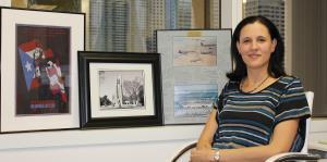 Heidi Pellerano planta bandera como ejecutiva de la Concacaf