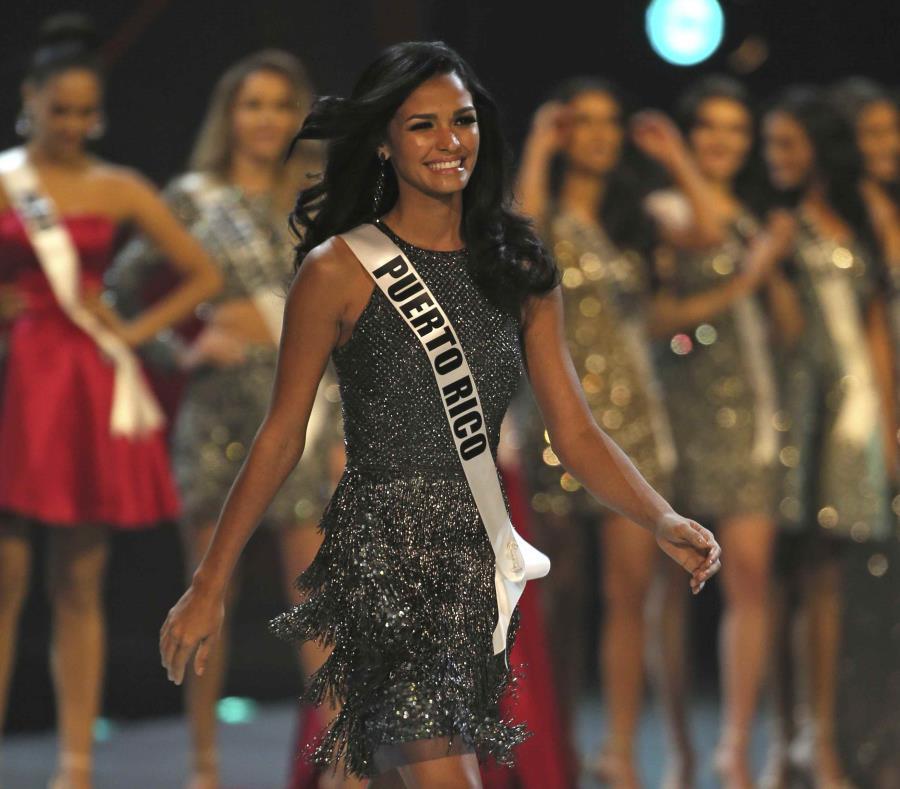 Kiara Liz Ortega durante la final. (AP) (semisquare-x3)
