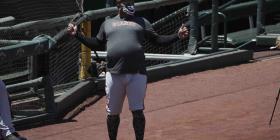 El peso de Pablo Sandoval vuelve a llamar la atención en los entrenamientos de los Giants