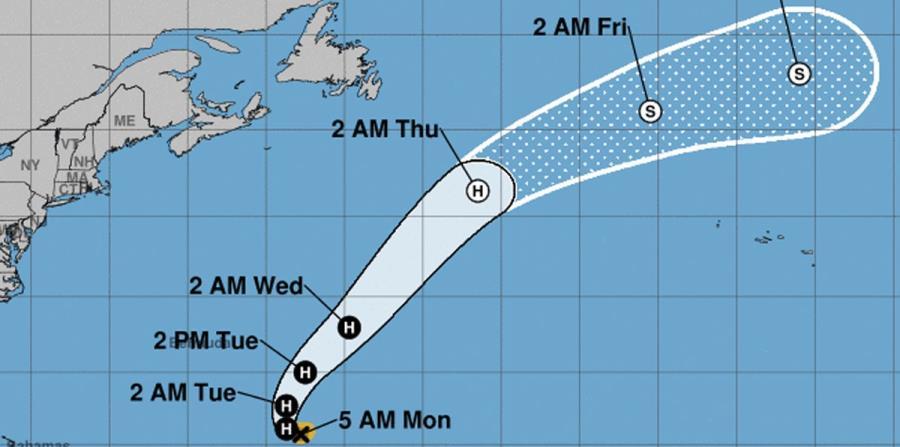 Vista del recorrido del huracán. (CNH) (horizontal-x3)
