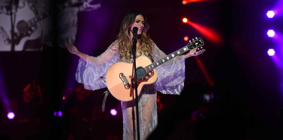 En la foto, la cantautora puertorriqueña, Kany García (horizontal-x3)