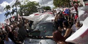 Populares honran a Héctor Ferrer en la sede del partido