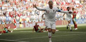 Cristiano Ronaldo hace historia contr...