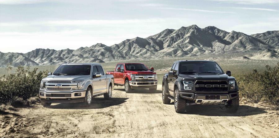Tanto los modelos Ford F-150 (imagen superior) como el Ford Explorer (arriba) continuarán su evolución. (horizontal-x3)