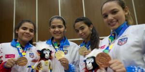 Primera jornada de oro para Puerto Rico en Barranquilla 2018