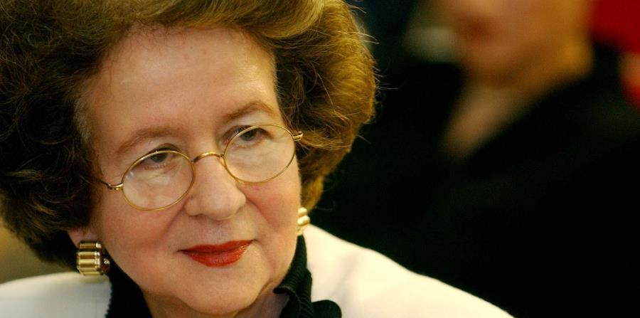 Naveira Merly juró como presidenta del Supremo en 2003. (GFR Media) (horizontal-x3)