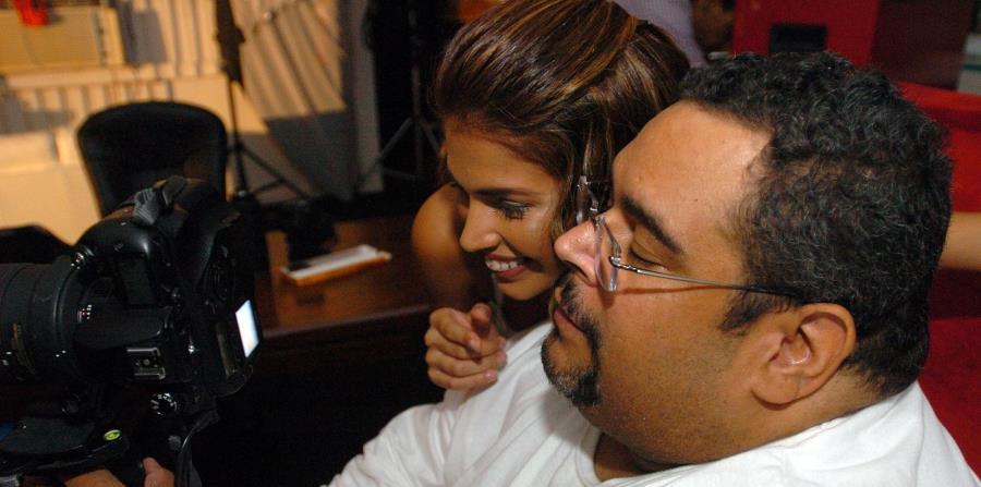 Iván Batista, junto a la Miss Mundo de Puerto Rico 2005, Casandra Castro, llevaba cuatro meses recluido en el Doctor's Center en Bayamón. (horizontal-x3)