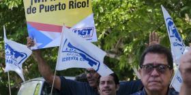 Protestan en defensa del taller de WIPR