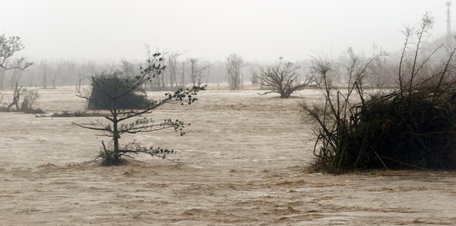 Residentes de Toa Baja aún recuerdan cómo el río La Plata se salió de su cauce con el paso del huracán María, y sus aguas inundaron muchas calles y casas de la zona. (GFR Media) (horizontal-x3)