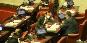 La mayoría del PNP en el Senado aprobó a viva voz las enmiendas al Código Electoral
