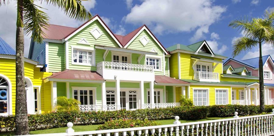 Pueblo en la Bahía Príncipe, en la península de Samaná. (Ministerio de Turismo de República Dominicana)