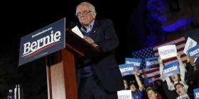 Bernie Sanders arranca al frente en el caucus demócrata en Nevada