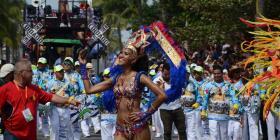 Alegre carnaval en Veracruz