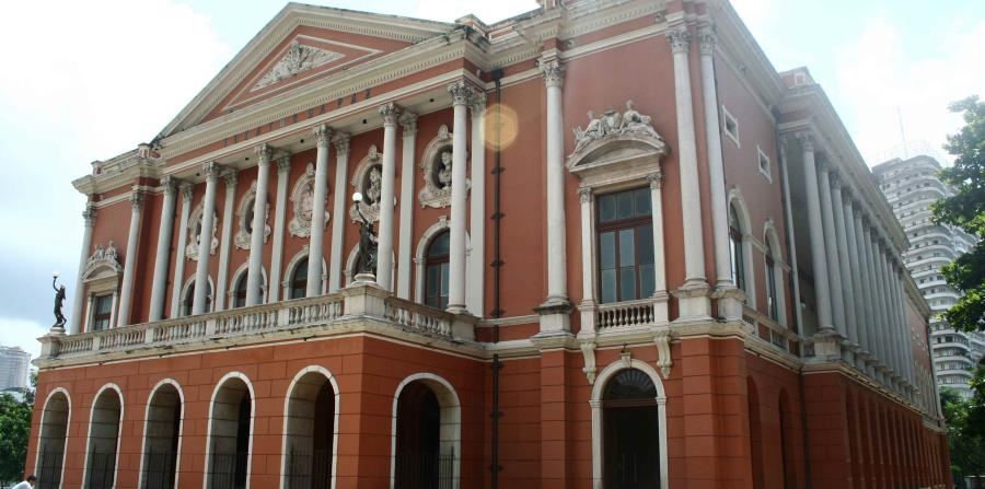Teatro de la Paz, Belém, Brasil