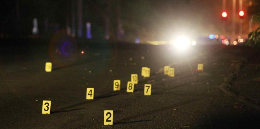 La escena del crimen se ubica en la calle 2 de la barriada Roosevelt, en San Lorenzo (horizontal-x3)