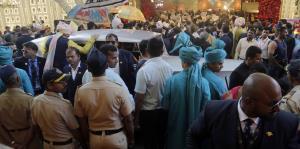 Celebran por todo lo alto una millonaria boda en la India