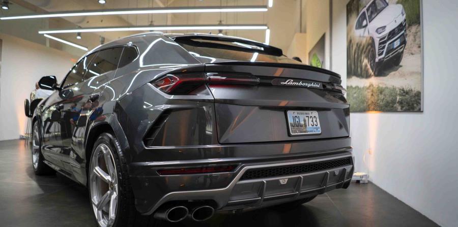 Modelo Lamborghini Urus. (Suministrada)