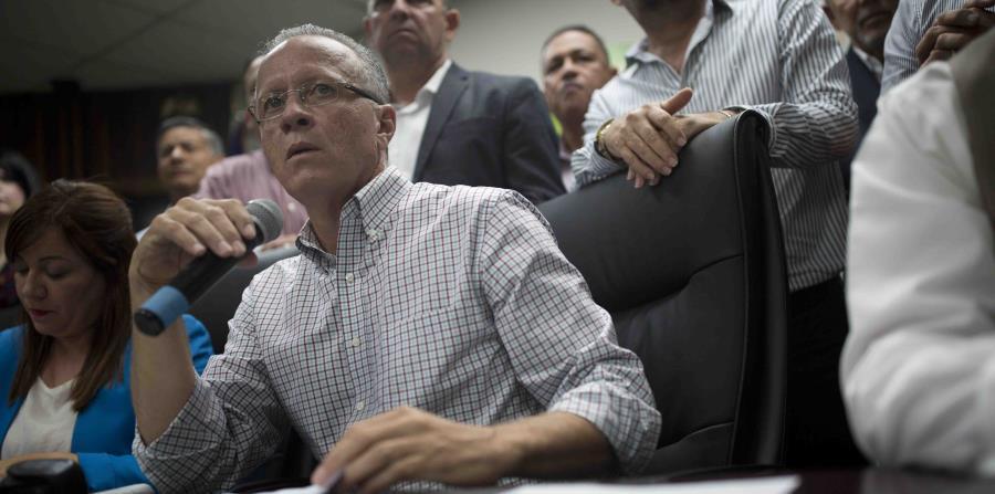 El alcalde de Cayey, Rolando Ortiz (horizontal-x3)
