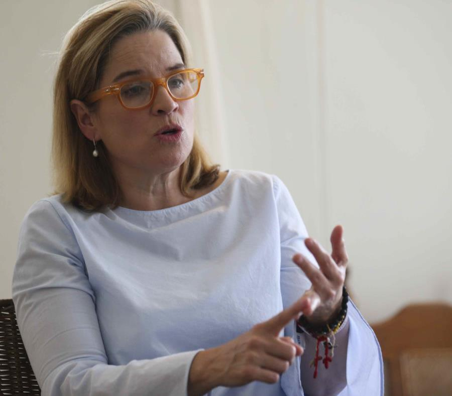 The mayor of San Juan, Carmen Yulin Cruz. (semisquare-x3)