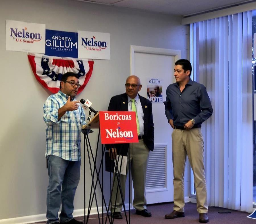Jimmy Torres-Vélez (Puerto Rico Vota), Víctor Torres (Puerto Rican state Senator) and Brendan Ramírez (former Democratic candidate). (semisquare-x3)