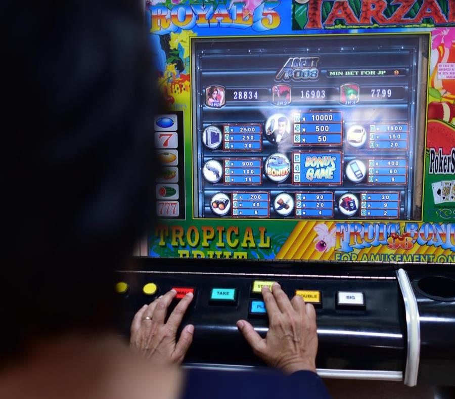 The measure includes the legalization of 45,000 slot machines over the next three years. (semisquare-x3)