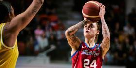 Jazmon Gwathmey: con otro turno para volver a la WNBA