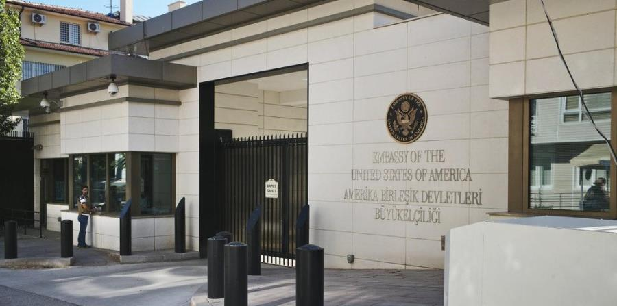 Disparan contra la embajada de Estados Unidos en Turquía (horizontal-x3)