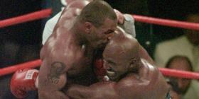 Mike Tyson descarta a Evander Holyfield como rival en su regreso al boxeo