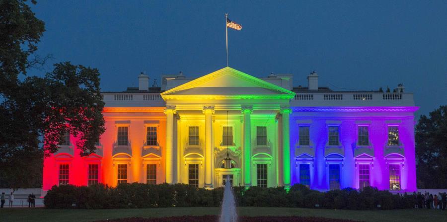 Iluminada la Casa Blanca con los colores del arcoíris | El Nuevo Día