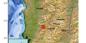 Sismo de magnitud 6.0 sacude a varias ciudades de Colombia