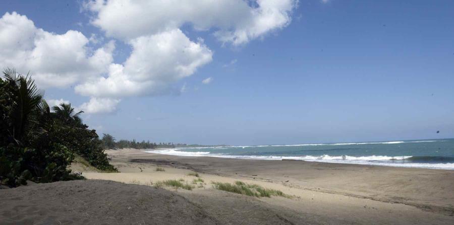 Unas banderas amarillas se colocan en las playas en las que se han detectado una alta presencia de bacterias. (horizontal-x3)