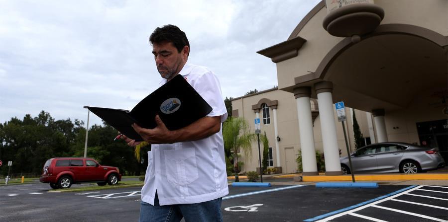 El portavoz de la organización Iniciativa Acción Puertorriqueña, Jimmy Torres Vélez anunció la gestión. (horizontal-x3)