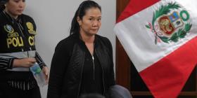 Fiscal peruano dice que Keiko Fujimori no posee bienes y hay riesgo de que se fugue
