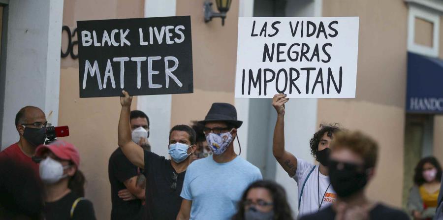 Así transcurrió la manifestación en repudio al racismo en Viejo San Juan