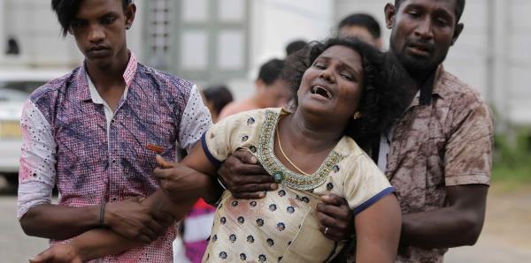Sri Lanka es sacudido por ocho explosiones registradas en iglesias y hoteles