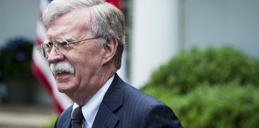El asesor de Seguridad Nacional de la Casa Blanca, John Bolton, se encuentra en Moscú. (EFE) (horizontal-x3)