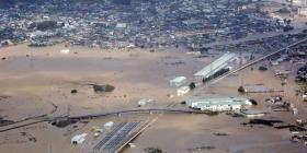 Continúan las labores de rescate en Japón donde tifón dejó más de 30 muertos