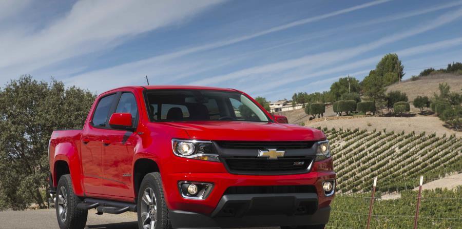 Chevrolet Colorado (Suministrada)
