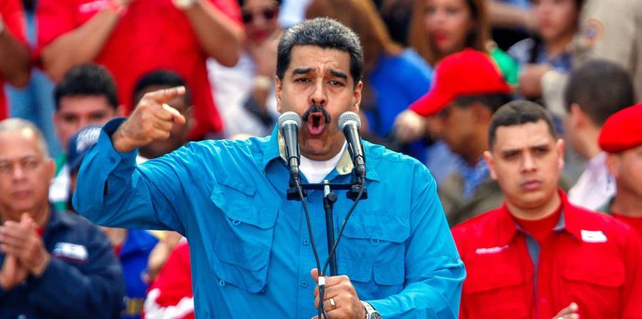 El presidente de Venezuela, Nicolás Maduro (horizontal-x3)
