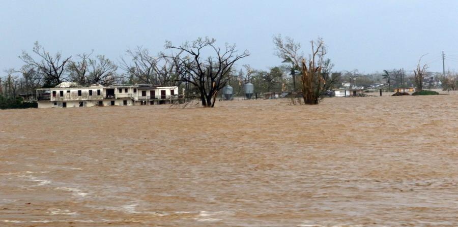 Así estuvo el río de La Plata a la altura del pueblo de Dorado el pasado 20 de septiembre. (Especial / Alex Rafael Román) (horizontal-x3)