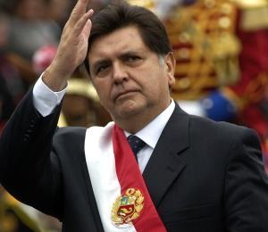Alan García: un día triste para el Perú