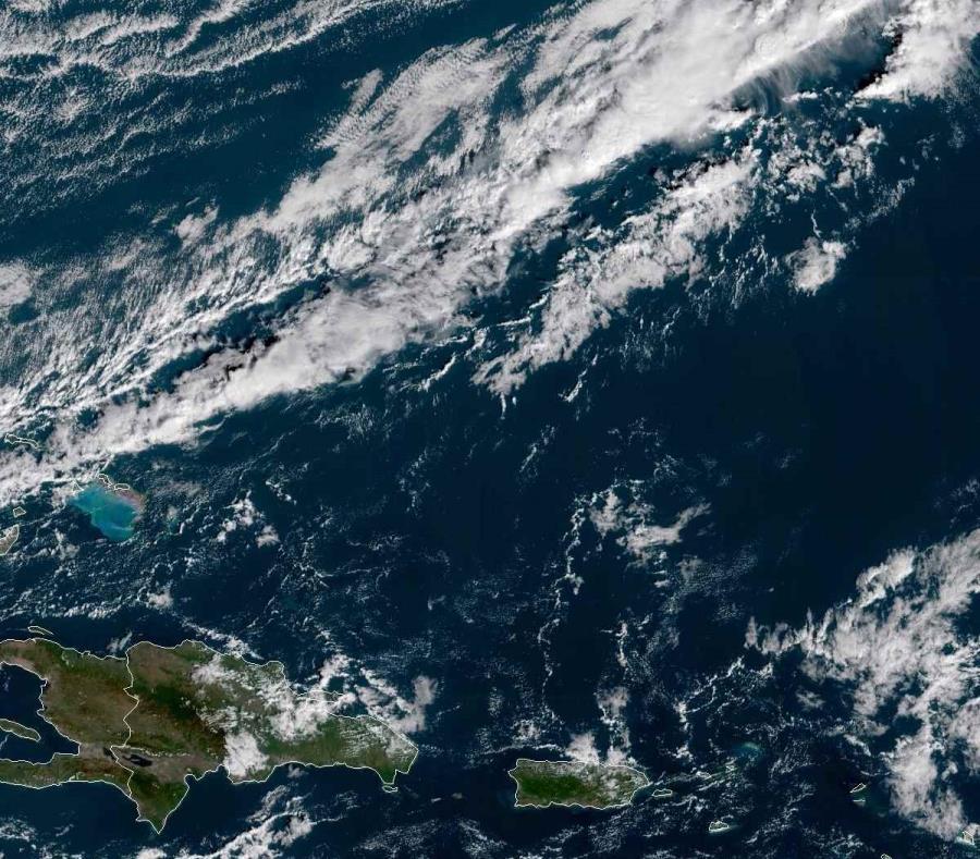 Se esperan lluvias para el área interior y oeste de la isla en horas de la tarde. (NOAA) (semisquare-x3)