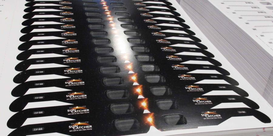 Aunque en Puerto Rico se regalarán gafas para ver el eclipse de manera segura, en Estados Unidos se están vendiendo. (Suministrada)