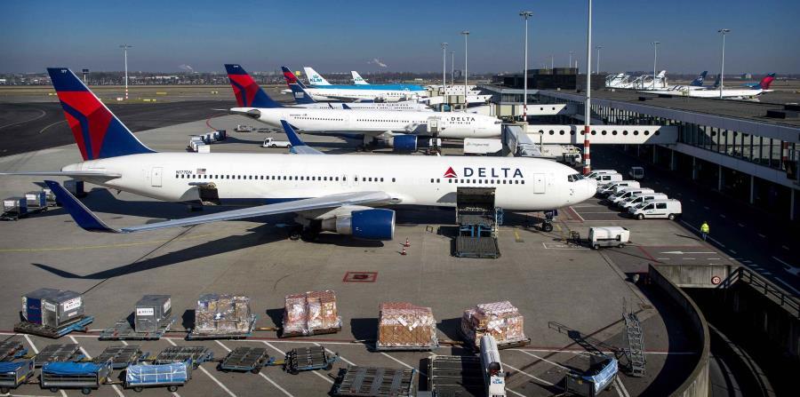 El vuelo de Delta fue retrasado. (EFE) (horizontal-x3)