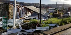 St. Thomas tras el paso de Irma y María