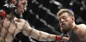 La pelea entre McGregor y Nurmagomedov terminó en caos