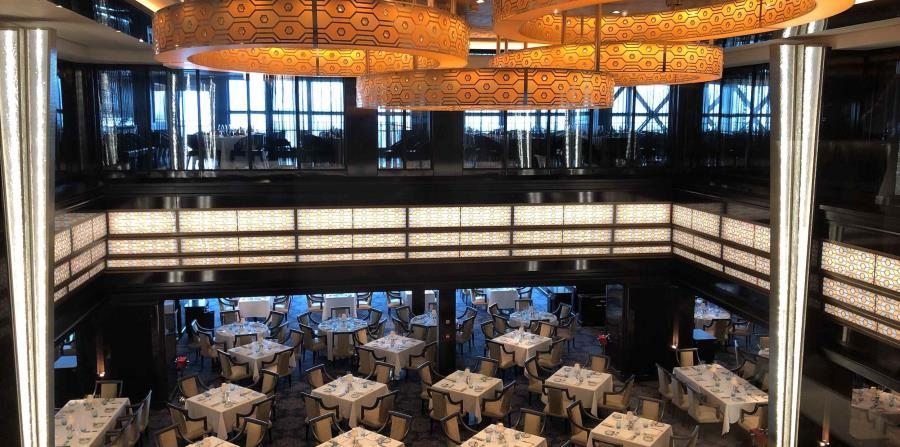 The Manhattan Room, uno de los comedores principales del barco. (Gregorio Mayí / Especial para GFR Media)