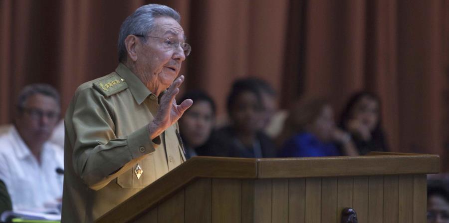 En la foto está el actual presidente de Cuba, Raúl Castro. (horizontal-x3)